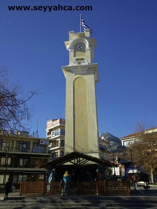 İskeçe Saat Kulesi-Yunanistan