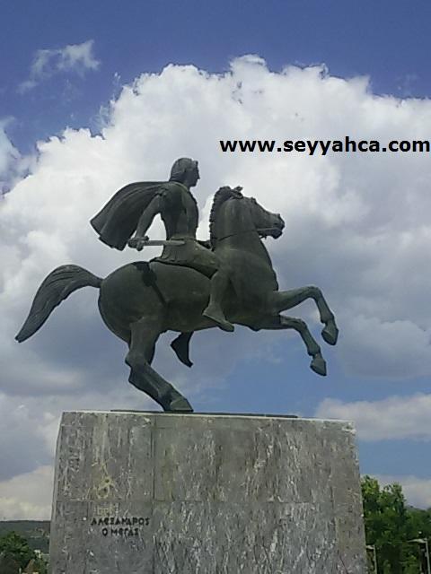 Büyük İskender Heykeli- Selanik