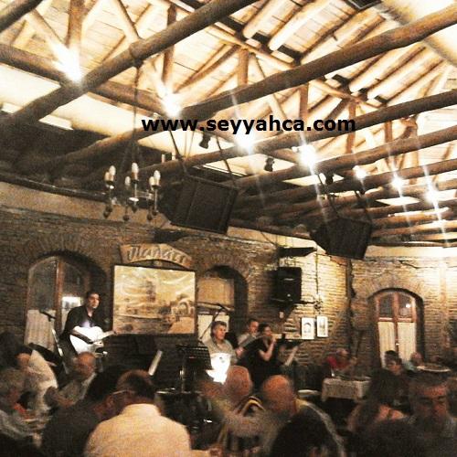 Eski bir yağ fabrikasından tavernaya dönüştürülen Palati-Selanik