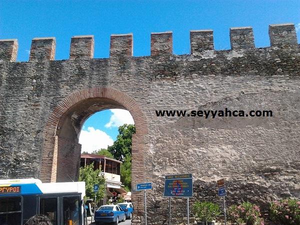 Bizans Duvarları-Selanik