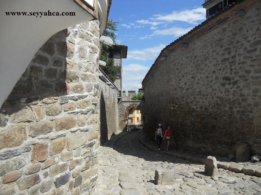 Eski Filibe Taş Sokaklar