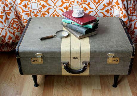 bavul sehpa