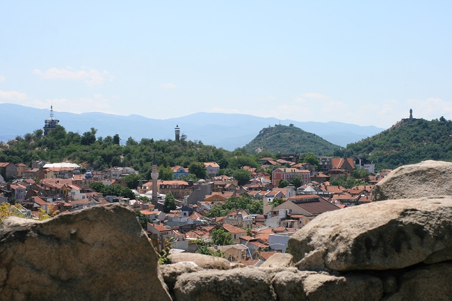 Plovdiv'in tepeleri
