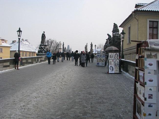 Charleas Köprüsü-Prag