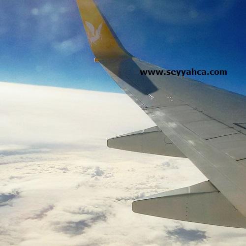 Bulutların üzerinde uçuyorum :)
