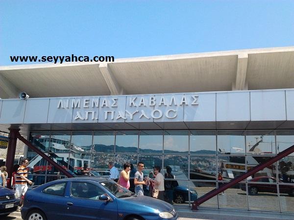 Kavala Limanı- Yunanistan