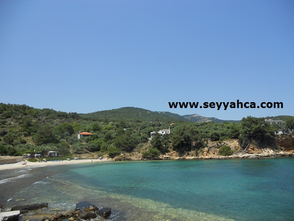 Thassos-Aliki Beach Civarı...