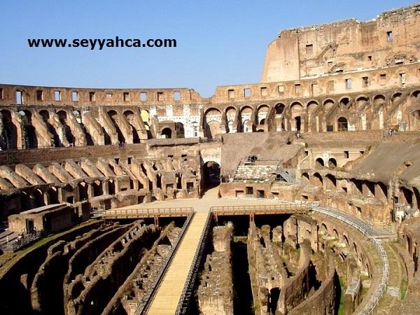 Colesseum'un İçi İtalya- Roma