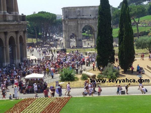 Colesseum- İtalya Roma