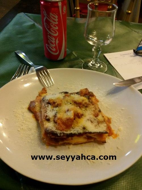 Lasagna (lazanya)-İtalya