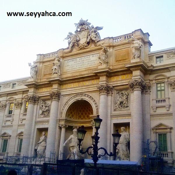 Fontana Di Trevi (Aşk Çeşmesi)