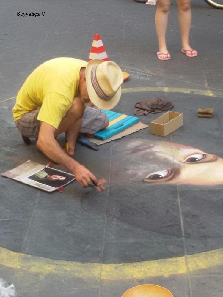 Floransa Sokak Sanatçısı