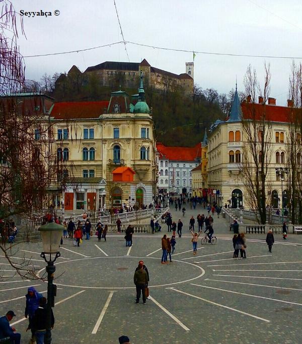 Ljubljana Şehir Meydanı