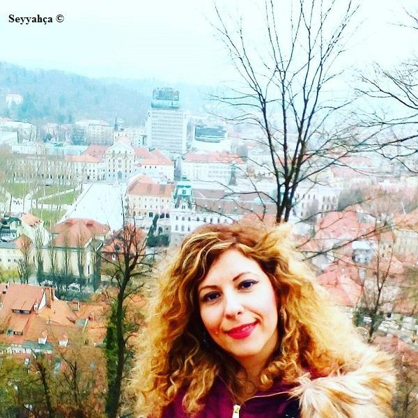 Ljubljana Kalesi Manzarası