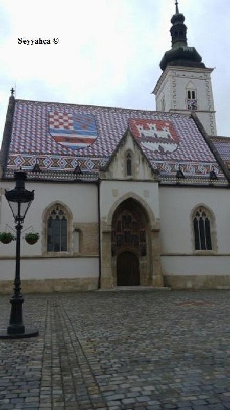 Aziz Marks Kilisesi Zagreb-Hırvatistan