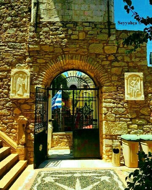 Taksiarhis Kilisesi Giriş