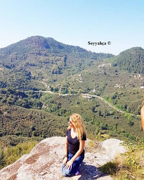 Kalenin Zirvesinde Olmanın Keyfi ve Haklı Gururu :)