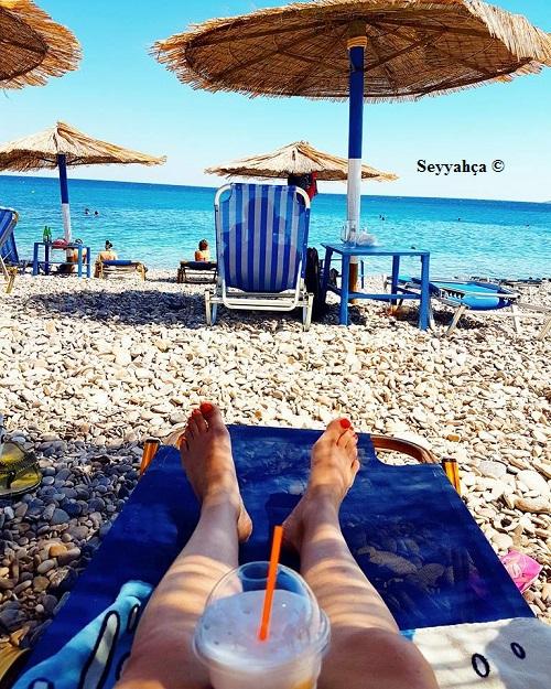 Agia Fotia Deniz ve Frape Keyfi ;)