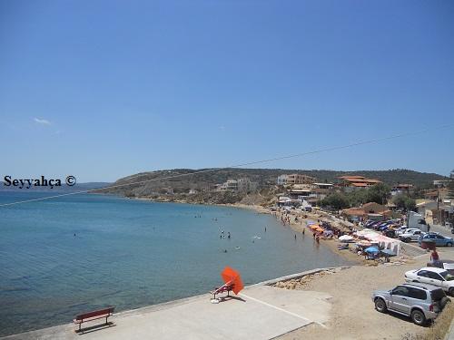 Megas Limnionas Plaj-Sakız Adası