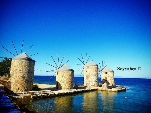 Yel Değirmenleri-Sakız Adası