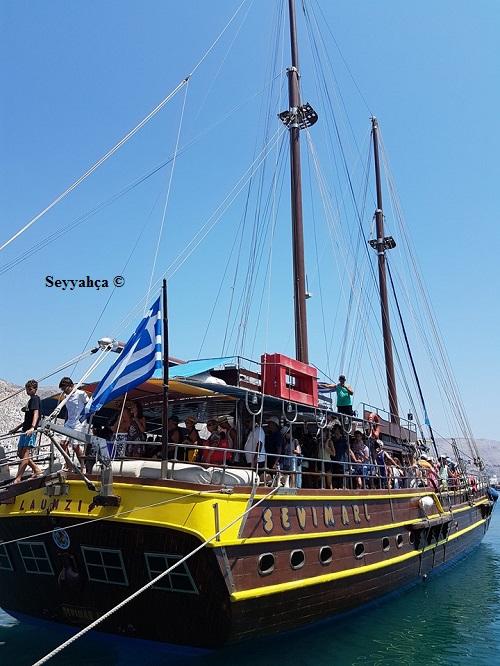 Kos Adası tekne turu