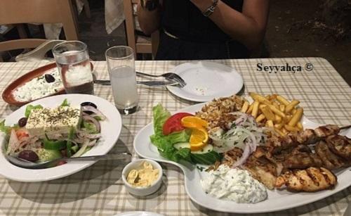 Select Taverna yemek-Kos