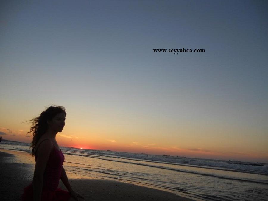 Kilyos'da Günbatımı