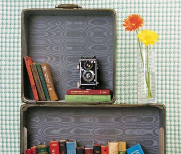 bavul kitaplık