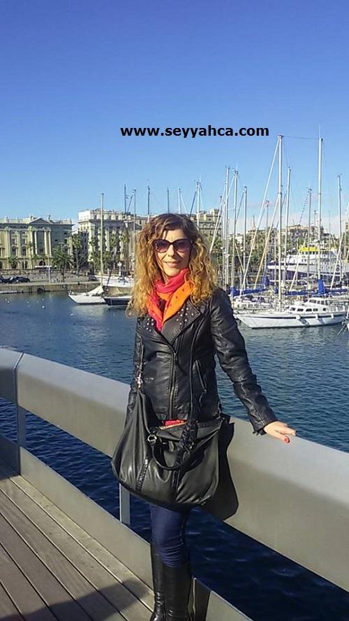 Seyyah(ça) Barselona Limanı- Port Vell'de...