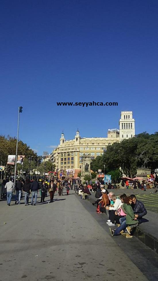 Placa De Catalunya- Barselona