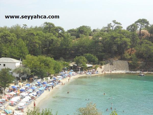 Thassos Adası- Aliki Beach