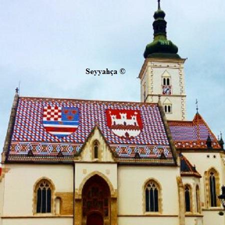 St Marks Kilisesi-Zagreb