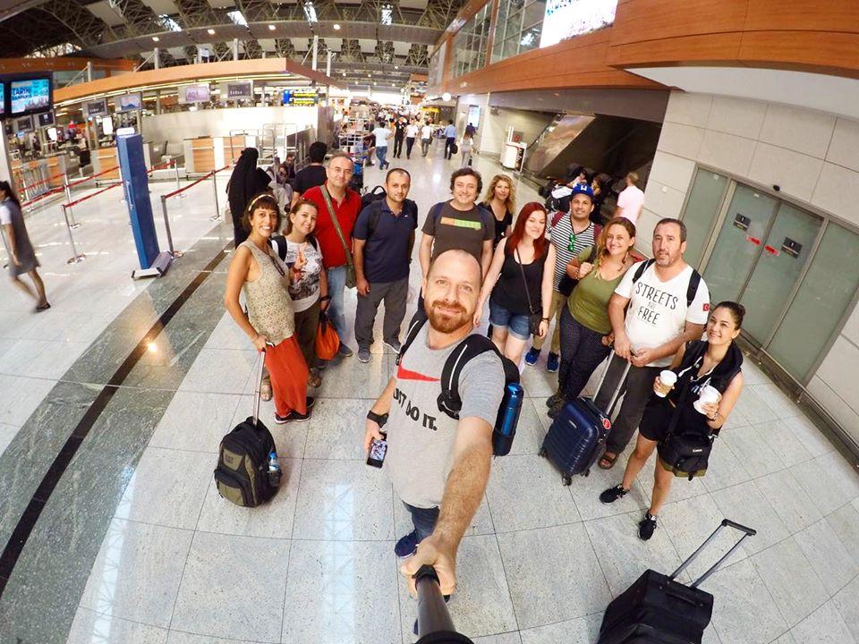 Blog Yazarları Ordu Gezisi İçin Sabiha Gökçen Havalimanı'nda Buluştuk