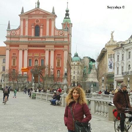 Seyyahça, Slovenya Ljubljana'da...